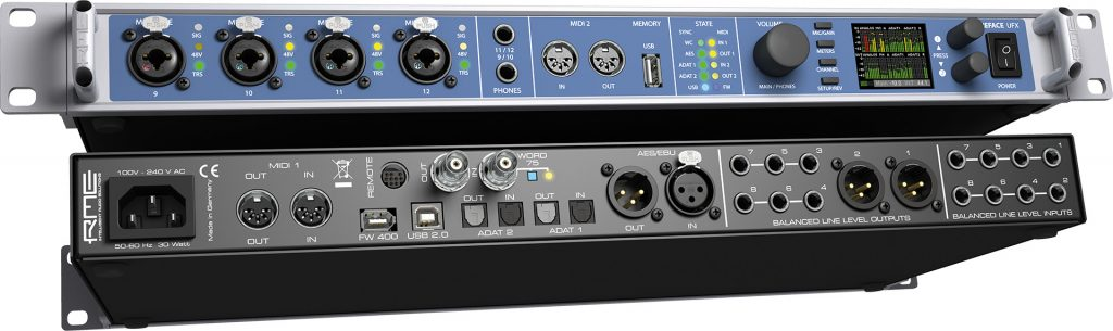 RME Fireface UFX USB 2.0 High-Performance Audio Interface