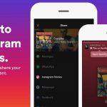 Ahora puedes compartir música de Spotify y SounCloud en Instagram