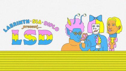 """Video – LSD el grupo de Diplo, Sia y a Labrinth lanza """"Genius"""""""