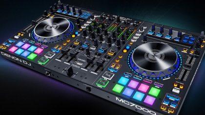 Denon DJ mejora jogs y mics en el controlador MC7000 Serato DJ
