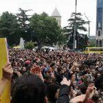 Nina Kraviz, DJ Nobu, Ellen Alien y más artistas responden a las protestas de Tbilisi