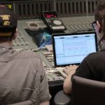 Skrillex en el estudio con Boys Noize