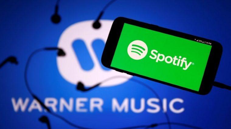 Sony y Warner venden 1 millardo de USD en acciones de Spotify