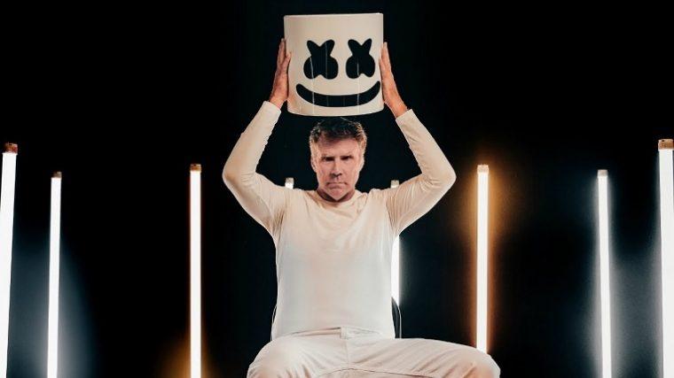 Will Farrell abre show de Marshmello