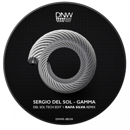 "DNW Records Chile presenta Sergio Del Sol ""Gamma Remixes"""