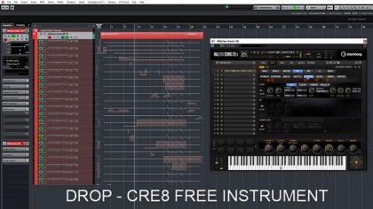 Descarga gratis el sinte granular Drop CRE8