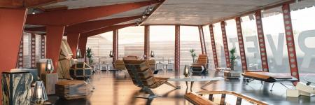 Director creativo de Daft Punk lanza exposición de muebles futuristas