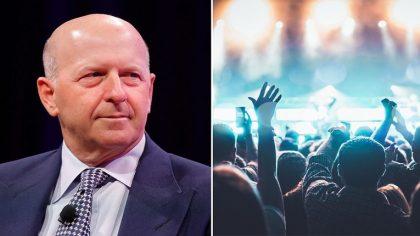 Un DJ se convierte en el CEO de Goldman Sachs