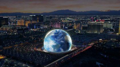 Madison Square Garden construye futurística esfera en Las Vegas
