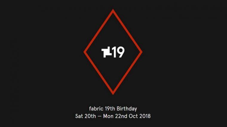 Fabric celebra su 19º Aniversario con un rave