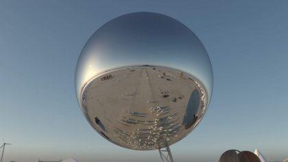 Video – Mira la gigante bola disco que estará en Burning Man