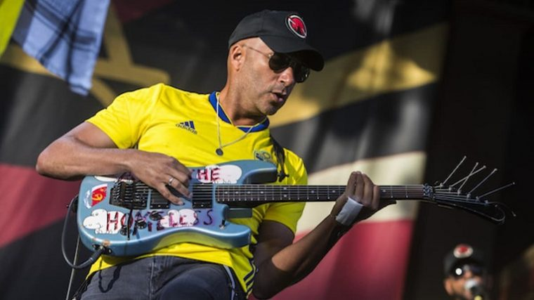 Tom Morello con Knife Party y Bassnectar en su nuevo álbum «The Atlas Underground»