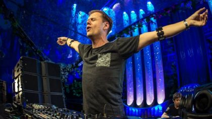 Armin van Buuren comparte su set del Tomorrowland