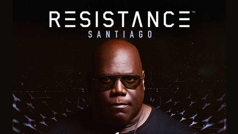 Carl Cox encabeza el festival Resistance Santiago