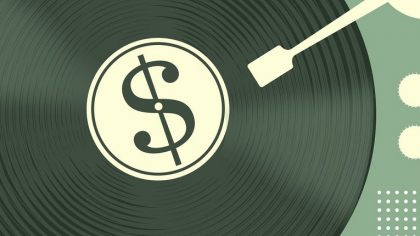 Los artistas sólo reciben el 12% de las ganancias de la música en 2017