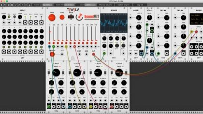 Descarga gratis – Oscilador armónico para VCV Rack