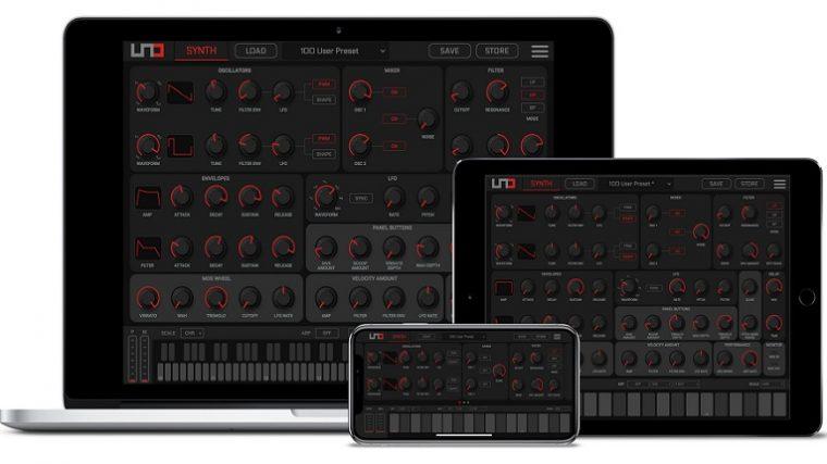 IK Multimedia lanza UNO Synth Editor para Mac, PC y iOS