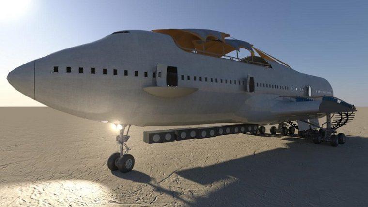 Finalmente moverán el Boeing 747 del Burning Man
