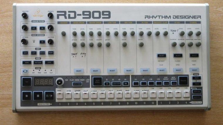 Behringer revela el clon de la legendaria 909