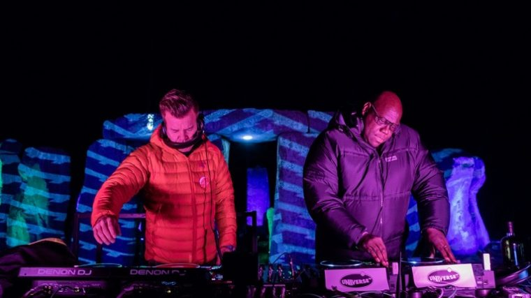Video – Mira a Carl Cox y a Paul Oakenfold tocar en Stonehenge