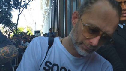 Video – Thom Yorke comparte una canción exclusiva para Greenpeace