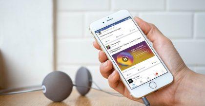 Ahora podrás fijar tus canciones favoritas en tu perfil de Facebook