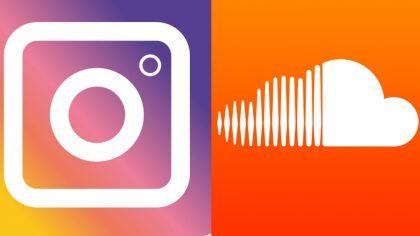 Comparte tus tracks favoritos de SoundCloud en tus Instagram stories