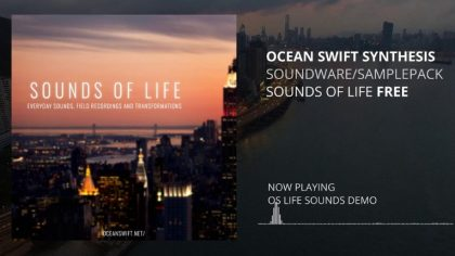 "Descarga gratis – 904MB de samples ""Sounds of life"""
