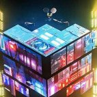 VIDEO – DEADMAU5 PRUEBA SU CUBO 3.0