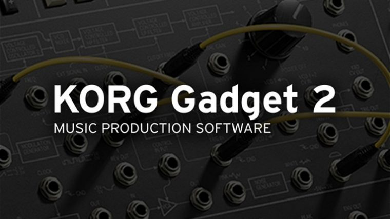 KORG GADGET 2 YA DISPONIBLE