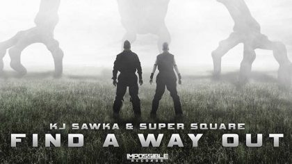 "KJ SAWKA & SUPER SQUARE LANZAN VIDEO ""FIND A WAY OUT"""