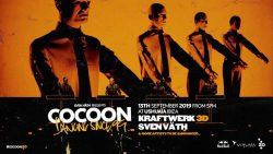KRAFTWERK 3D LLEGA A COCOON EN USHUAIA IBIZA