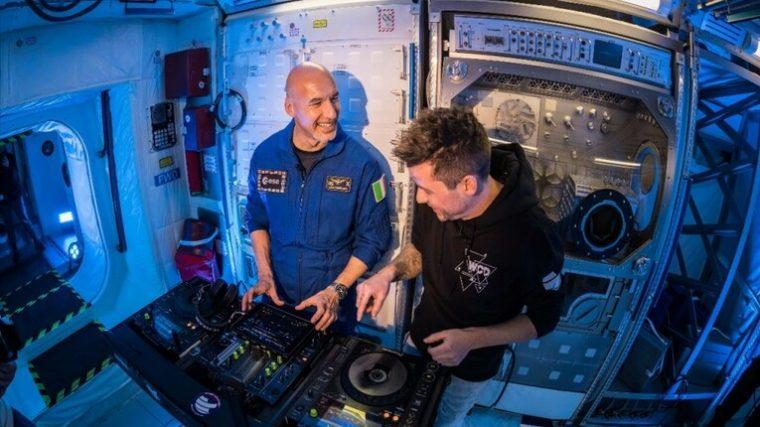 UN ASTRONAUTA TOCARÁ EL PRIMER DJ SET EN EL ESPACIO
