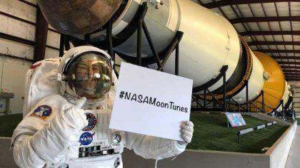 LA NASA ABRE INVITACIÓN A CREAR PLAYLIST PARA EL REGRESO A LA LUNA EN 2024