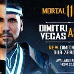Dimitri Vegas pasa a ser Sub-Zero en Mortal Kombat 11