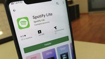 Spotify anuncia la aplicación 'Lite' para usuarios de Android