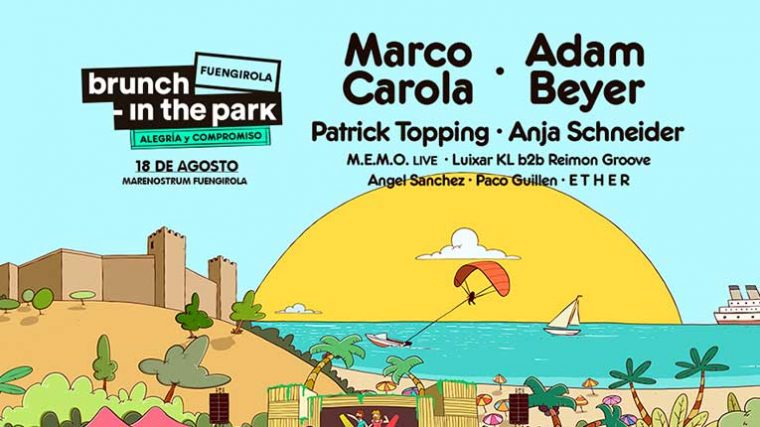 FESTIVAL BRUNCH IN THE PARK LLEGA A FUENGIROLA