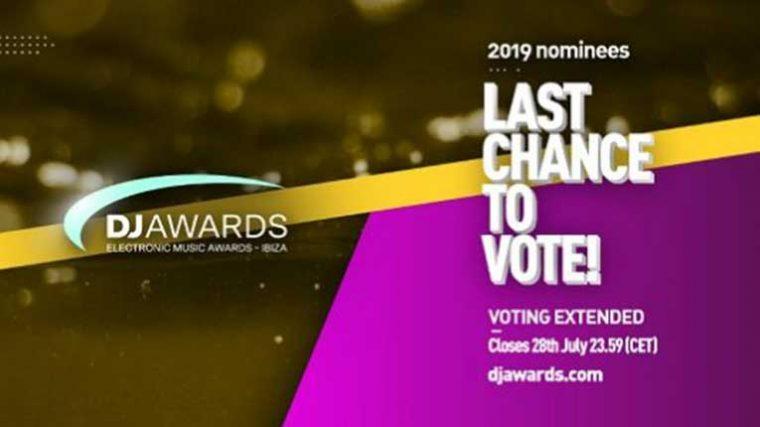 La votación para los DJ Awards 2019 se ha extendido