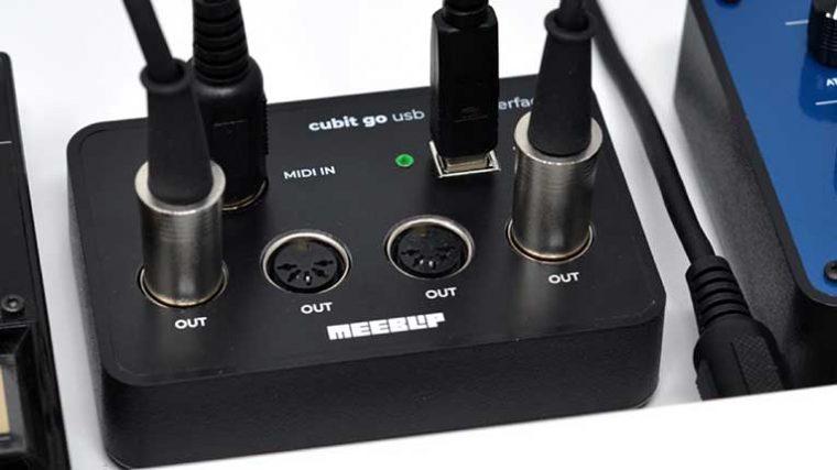MeeBlip lanza 'Cubit Go' una interfaz USB MIDI