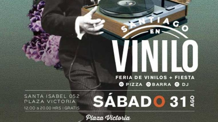 Vuelve Santiago en Vinilo