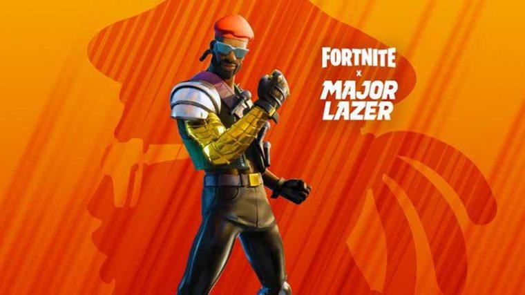 Skin de Major Lazer llega a Fortnite