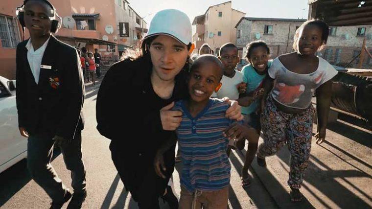 Skrillex abre una escuela de producción musical en Ciudad Del Cabo