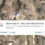 "Facebook ha cancelado el evento ""Storm Area 51, They Can't Stop All Of Us"""