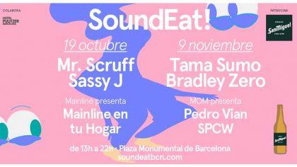 SoundEat cierra el año con dos fechas, el 19 de octubre y el 9 de noviembre
