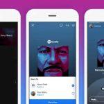 Ya puedes agregar música a los stories de Facebook a través de Spotify