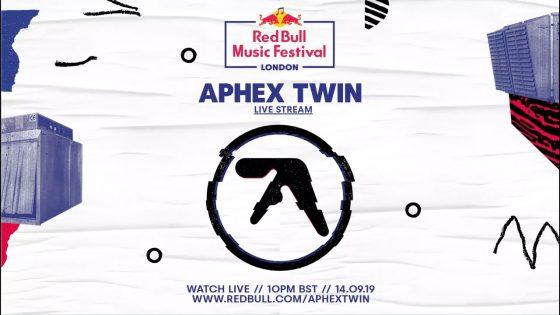 Show de Aphex Twin en Printworks London será transmitido en vivo por Red Bull