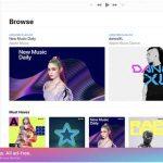 Apple Music presenta la versión beta del nuevo reproductor web