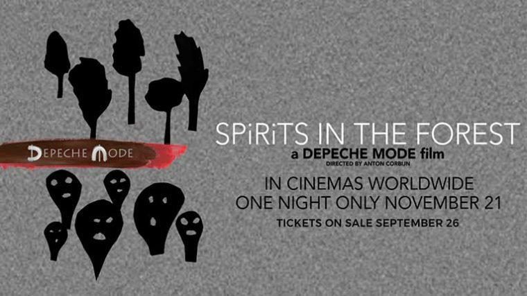 Depeche Mode lanza nuevo documental 'Spirits In The Forest'