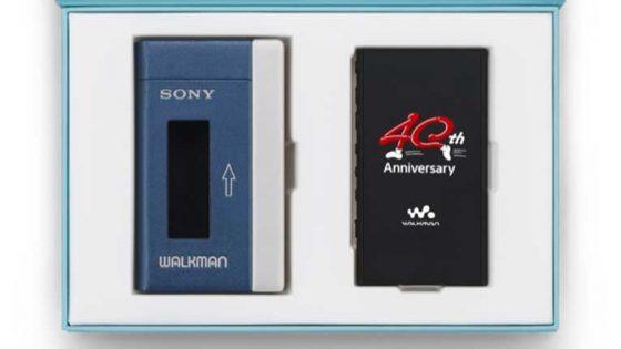 Sony lanza nuevo Walkman por su 40 aniversario