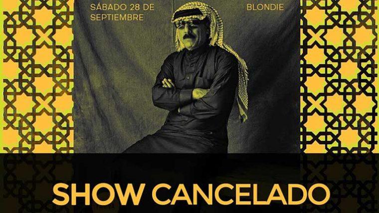 Omar Souleyman cancela su presentación en Chile